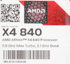 Процессор AMD Athlon X4 840, SocketFM2+ BOX [ad840xybjabox] вид 9