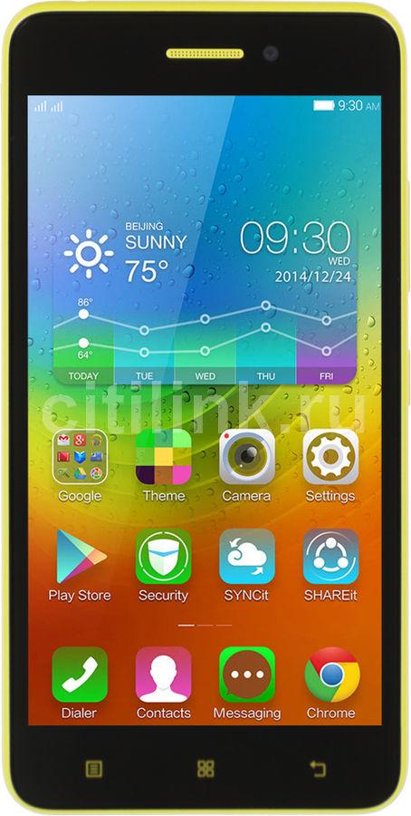 Смартфон LENOVO S60  8Gb, желтый