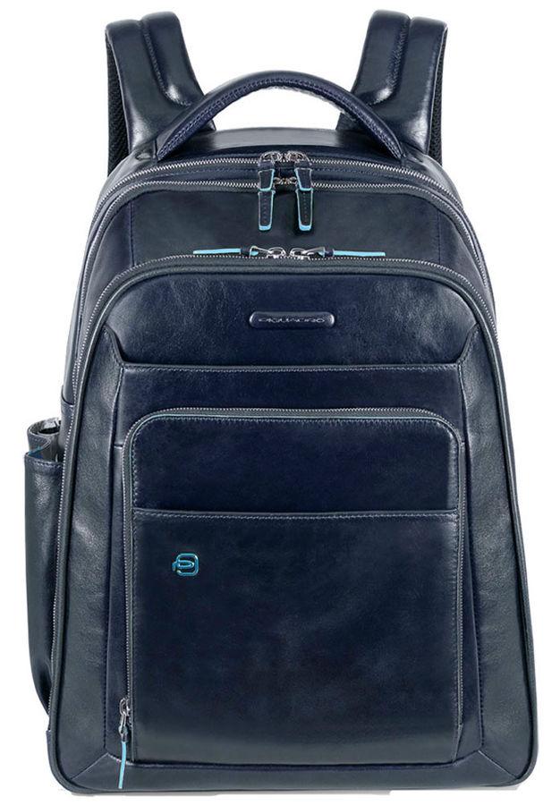 Рюкзак Piquadro Blue Square CA1813B2/BLU2 синий натур.кожа