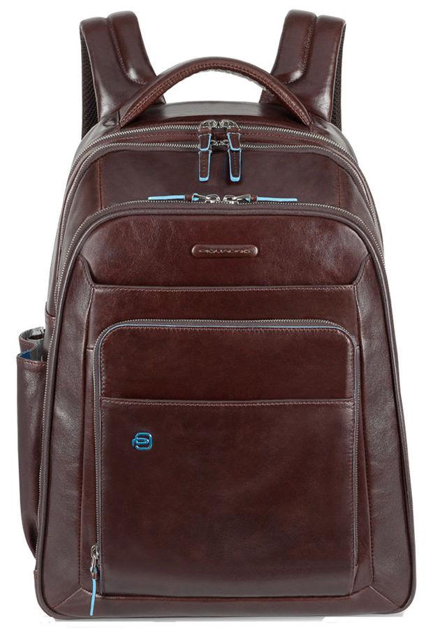 Рюкзак Piquadro Blue Square CA1813B2/MO коричневый натур.кожа