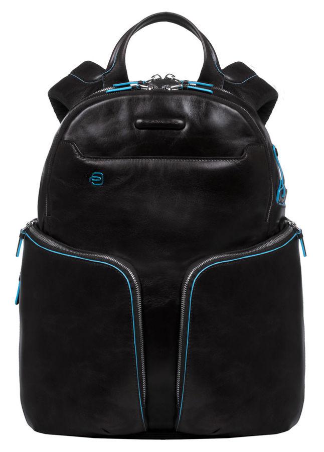Рюкзак Piquadro Blue Square CA3066B2/N черный натур.кожа