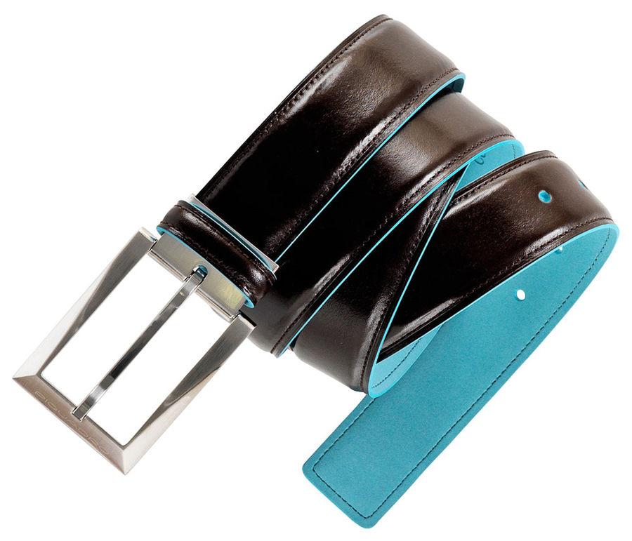 Ремень Piquadro Blue Square CU1521B2/MO коричневый натур.кожа