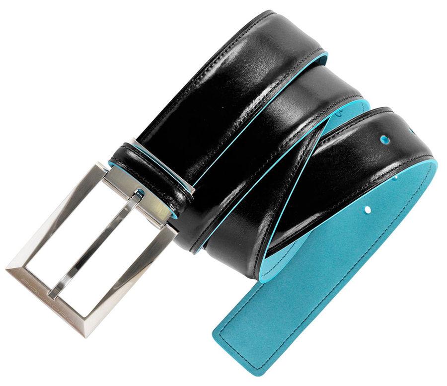 Ремень Piquadro Blue Square CU1521B2/N черный натур.кожа