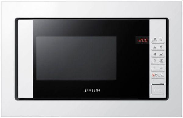 Микроволновая Печь Samsung FW87SR-W 23л. 800Вт белый (встраиваемая) [fw87sr-w/bwt]