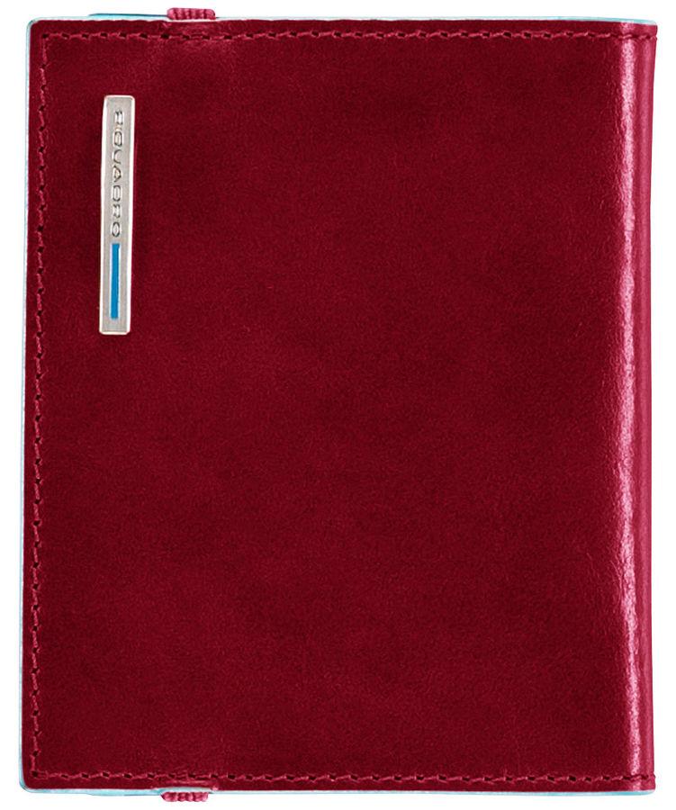 Чехол для кредитных карт Piquadro Blue Square PP1395B2/R красный натур.кожа