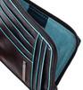 Чехол для кредитных карт Piquadro Blue Square PU1243B2/N черный натур.кожа вид 2