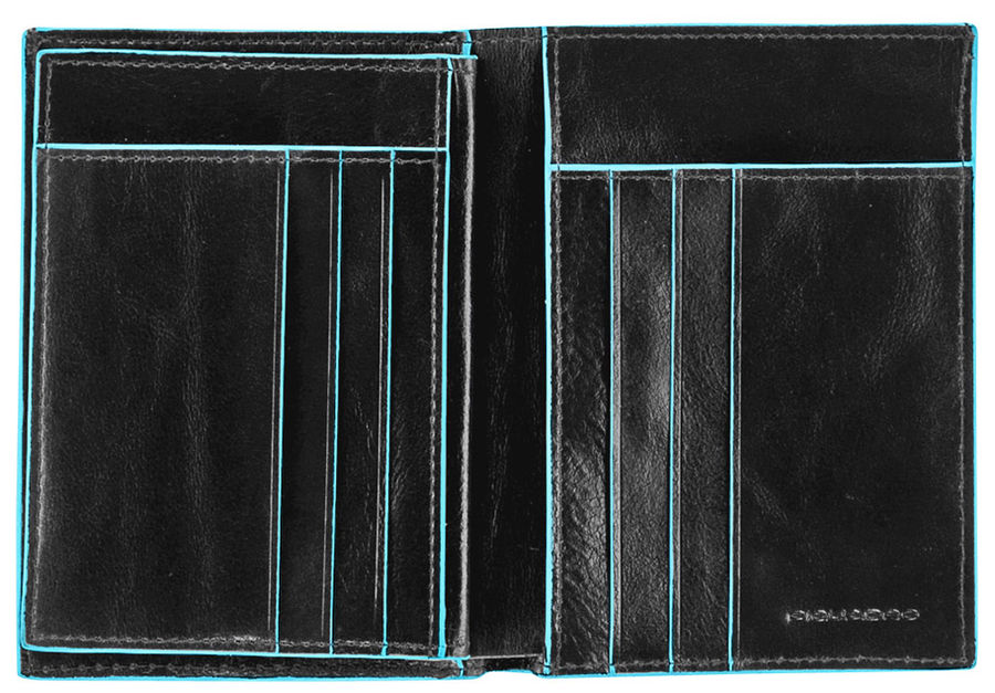Кошелек мужской Piquadro Blue Square PU1129B2/N черный натур.кожа
