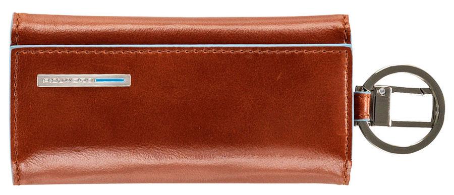 Ключница Piquadro Blue Square PC1397B2/AR оранжевый натур.кожа