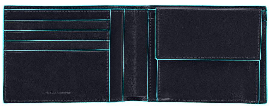 Кошелек мужской Piquadro Blue Square PU257B2/BLU2 синий натур.кожа