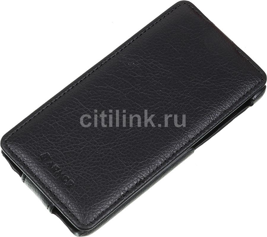 Чехол (флип-кейс) ARMOR-X flip full, для HTC Desire 626G, черный