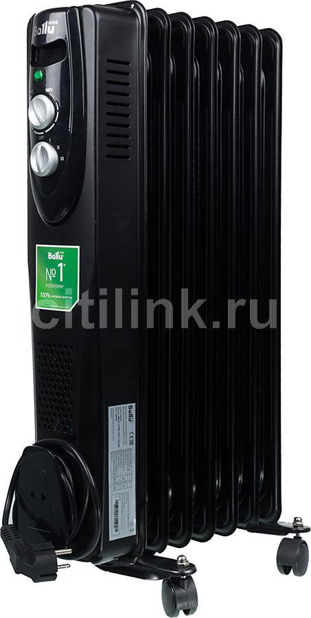 Масляный радиатор BALLU Classic BOH/CL-07BRN, 1500Вт, черный [нс-1050895]