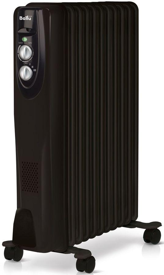 Масляный радиатор BALLU Classic BOH/CL-11BRN, 2200Вт, черный [нс-1050902]