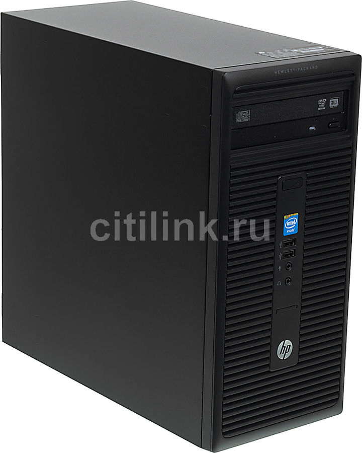 Компьютер  HP 280 G1,  Intel  Celeron  G1840,  DDR3 4Гб, 500Гб,  Intel HD Graphics,  DVD-RW,  Windows 7 Professional,  черный [n9e67ea]