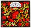 Напольные весы SUPRA BSS-4061Kalinka, цвет: красный/рисунок
