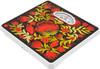 Напольные весы SUPRA BSS-4061 Kalinka, до 130кг, цвет: красный/рисунок [7785] вид 2