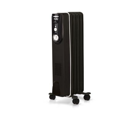 Масляный радиатор BALLU Modern BOH/MD-05BB, 1000Вт, черный [нс-1024328]