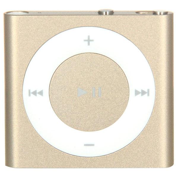 MP3 плеер APPLE iPod shuffle flash 2Гб золотистый/белый [mkm92ru/a]