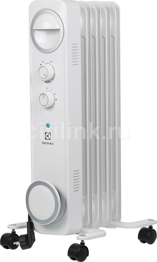 Масляный радиатор ELECTROLUX EOH/M-6105, 1000Вт, белый [нс-1072521]