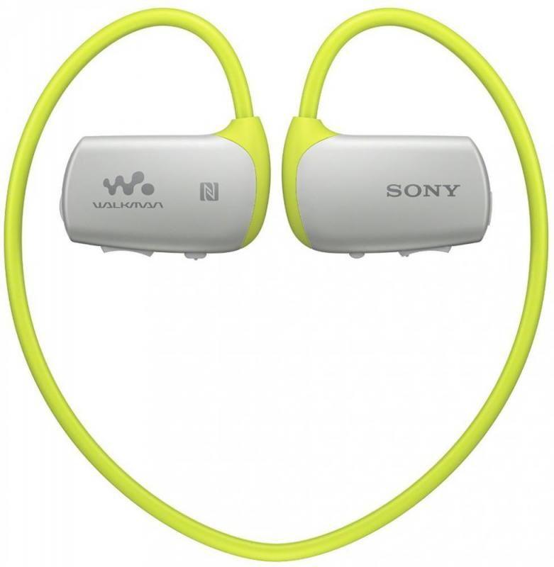 MP3 плеер SONY NWZ-WS615 flash 16Гб зеленый/серый [nwzws615g.ee]