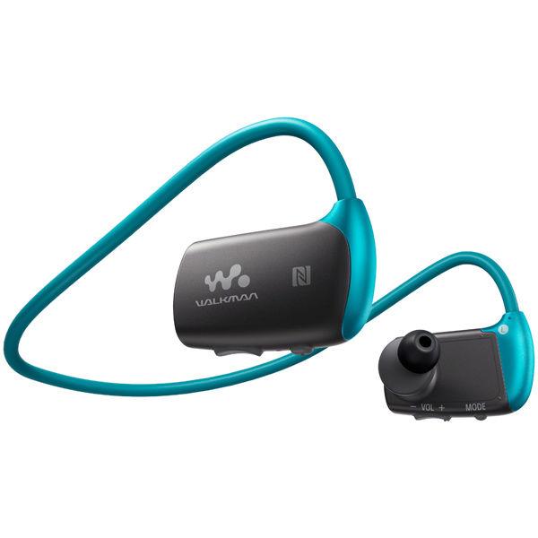 MP3 плеер SONY NWZ-WS615 flash 16Гб голубой/серый [nwzws615l.ee]