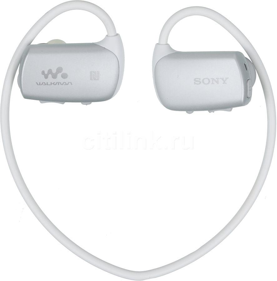 MP3 плеер SONY NWZ-WS615 flash 16Гб белый/серый [nwzws615w.ee]