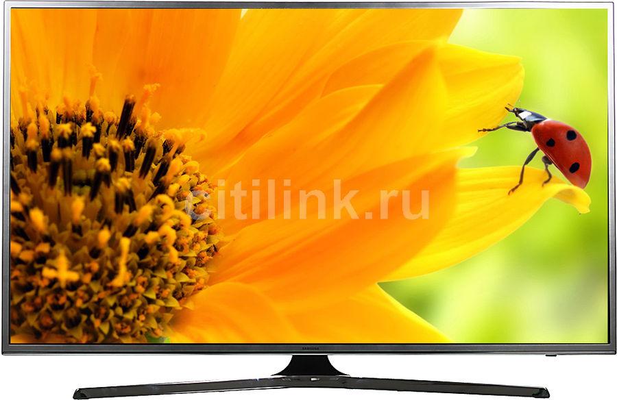 "LED телевизор SAMSUNG UE50JS7200UXRU  ""R"", 50"", Ultra HD 4K (2160p),  серебристый"