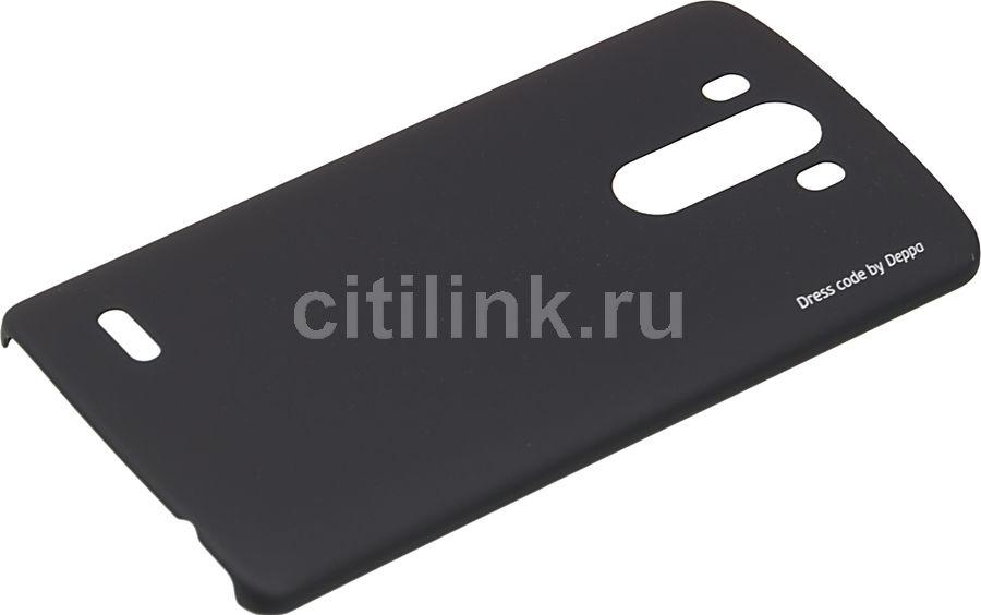 Чехол (клип-кейс) DEPPA Air Case, для LG G3, черный [83068]