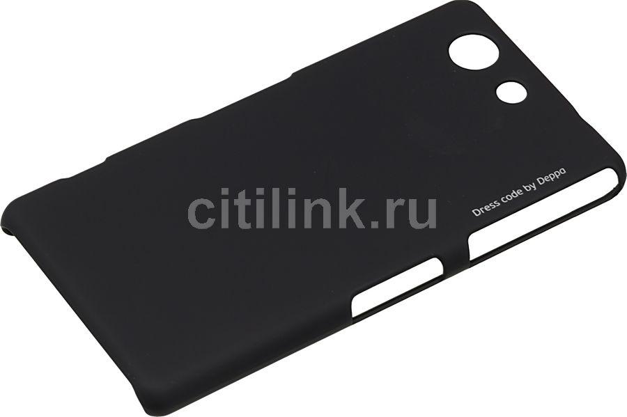 Чехол (клип-кейс) DEPPA Air Case, для Sony Xperia Z4 Compact, черный [83192]