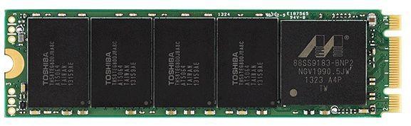 Накопитель SSD PLEXTOR M6eA PX-G512M6eA 512Гб, M.2 2280, PCI-E x2