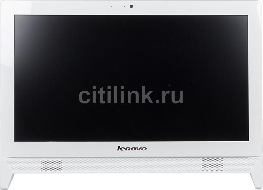 Моноблок LENOVO c20-05, AMD E1 7010, 2Гб, 500Гб, AMD Radeon R2, DVD-RW, Free DOS, белый [f0b3005rrk]