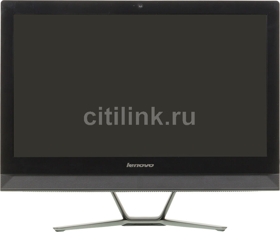 Моноблок LENOVO C50-30, Intel Core i3 5005U, 6Гб, 1000Гб, nVIDIA 820 - 2048 Мб, DVD-RW, Windows 10, черный [f0b100mmrk]