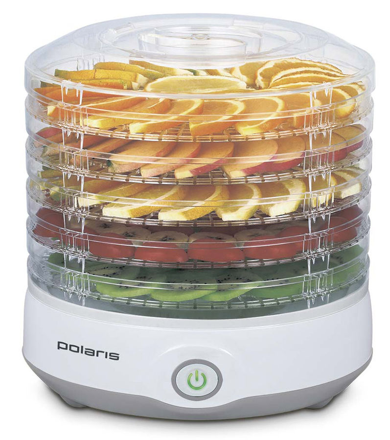Сушка POLARIS PFD 0705 для фруктов и овощей,  серый