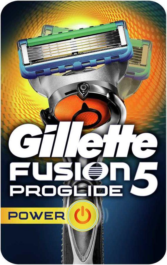 Бритва GILLETTE Fusion ProGlide Power, с технологией FlexBall (без дополнительных сменных кассет) [81523294]