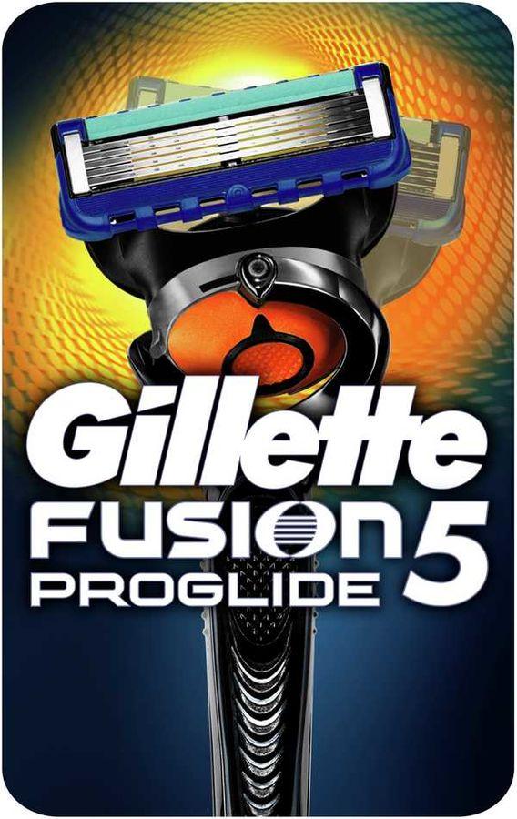 Бритва GILLETTE Fusion ProGlide, с технологией FlexBall (без дополнительных сменных кассет) [81523296]