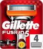 Сменные кассеты для бритья GILLETTE Fusion Power, 4шт [81372246] вид 1