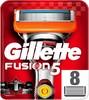 Сменные кассеты для бритья GILLETTE Fusion Power, 8шт [81382403] вид 1