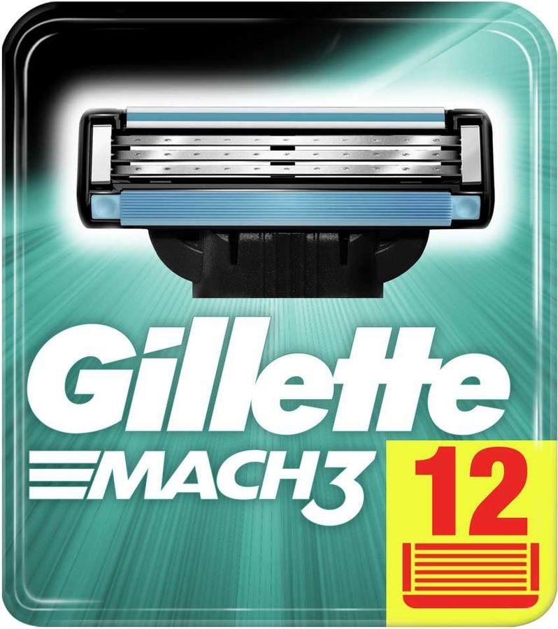 Сменные кассеты для бритья GILLETTE Mach 3 [80227854]