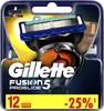 Сменные кассеты для бритья GILLETTE Fusion ProGlide,  12 шт. [81424007] вид 2