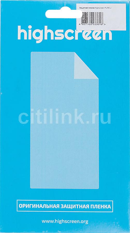 Защитная пленка HIGHSCREEN для Highscreen Pure J,  1 шт [22897]