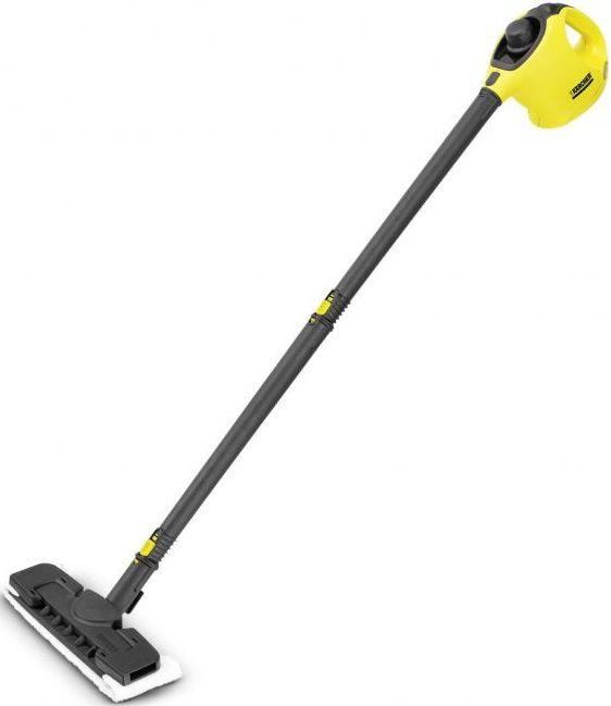 Парогенератор KARCHER SC1 Premium + Floorkit,  желтый/черный [15162260]