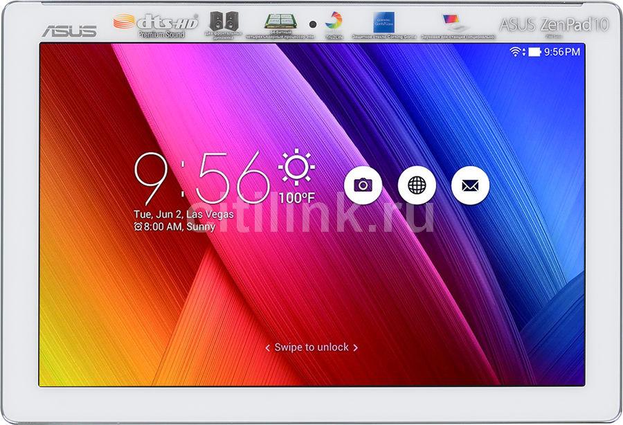 Планшет ASUS ZenPad Z300CG-1B016A,  2GB, 16GB, 3G,  Android 5.0 белый [90np0213-m00710]