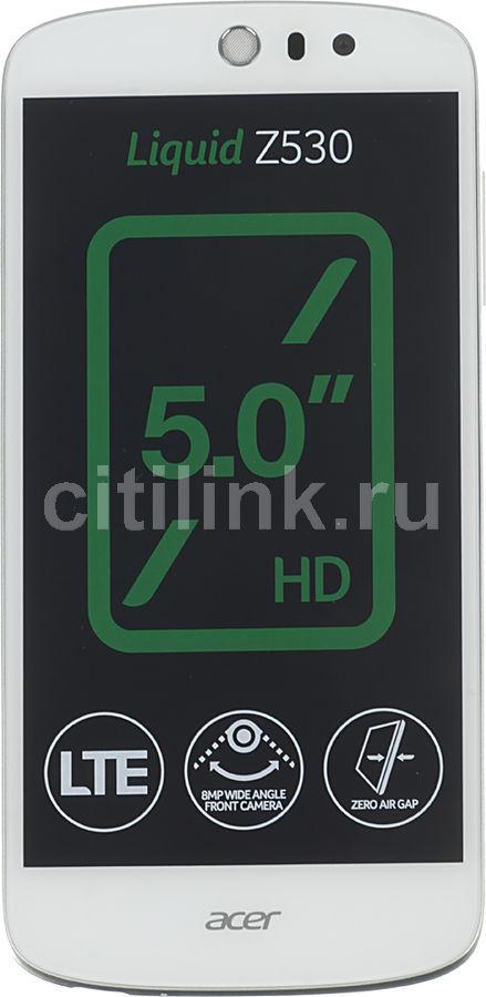 Смартфон ACER Liquid Z530  16Gb, белый