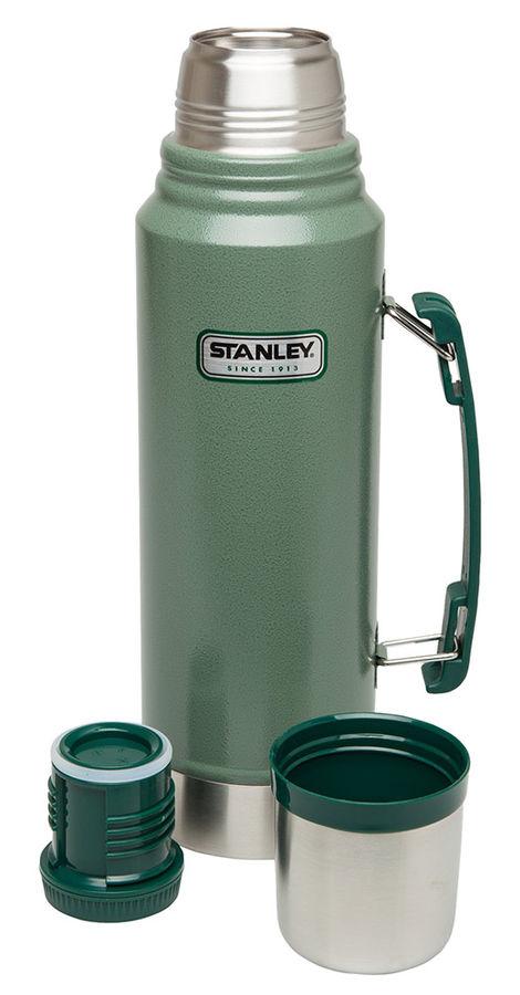 Термос STANLEY Legendary Classic, 1.9л, темно-зеленый/ серебристый