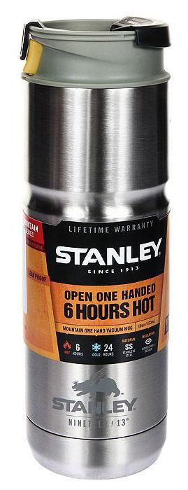 Термостакан STANLEY Mountain 1H, 0.47л, серебристый