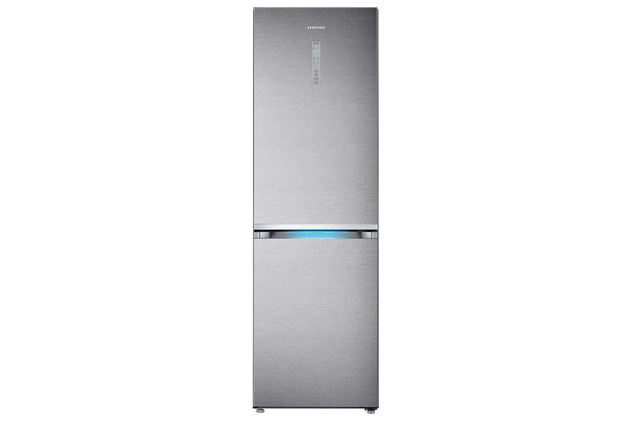 Холодильник SAMSUNG RB38J7861SR,  двухкамерный,  нержавеющая сталь [rb38j7861sr/wt]