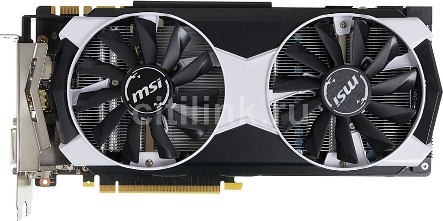 Видеокарта MSI GeForce GTX 980TI,  GTX 980TI 6GD5T OC,  6Гб, GDDR5, OC,  Ret