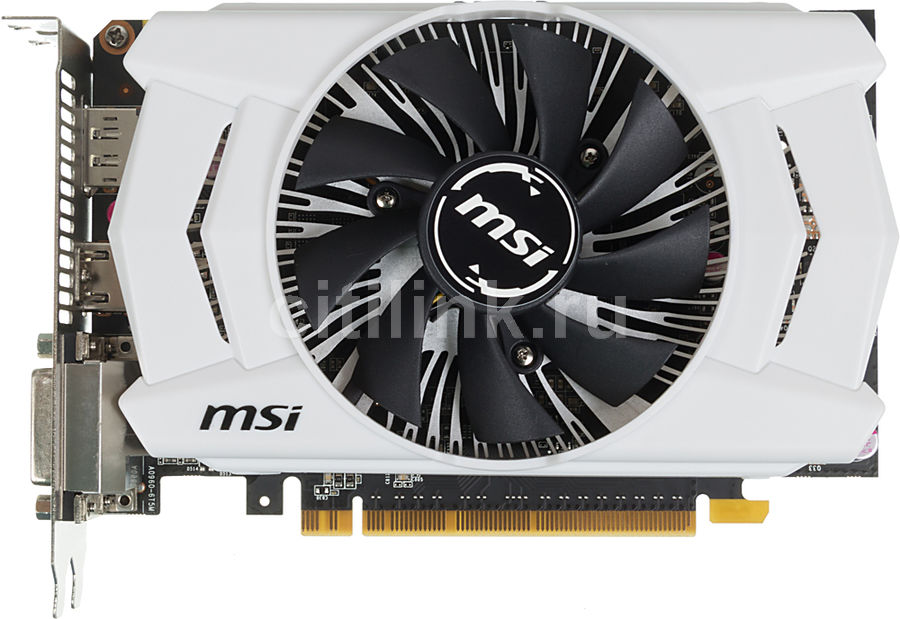 Видеокарта MSI GeForce GTX 950,  GTX 950 2GD5 OC,  2Гб, GDDR5, OC,  Ret