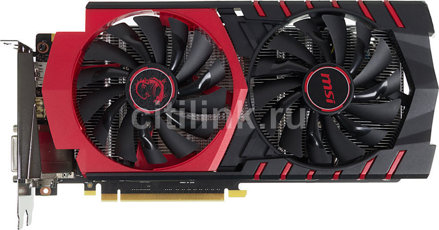 Видеокарта MSI GeForce GTX 950,  GTX 950 GAMING 2G,  2Гб, GDDR5, OC,  Ret
