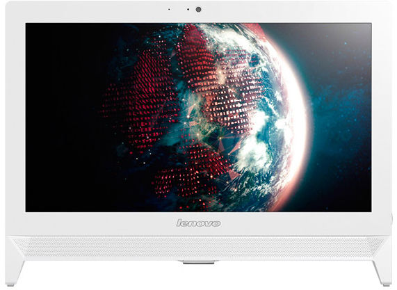 Моноблок LENOVO c20-30, Intel Core i3 5005U, 4Гб, 1000Гб, Intel HD Graphics, DVD-RW, Free DOS, белый [f0b2006nrk]