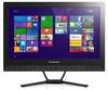 Моноблок LENOVO C40-30, Intel Pentium 3825U, 4Гб, 1000Гб, nVIDIA GeForce 820 - 2048 Мб, DVD-RW, Windows 10, черный [f0b400twrk] вид 1